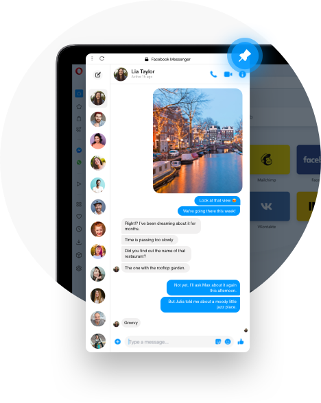 Messenger Messenger on