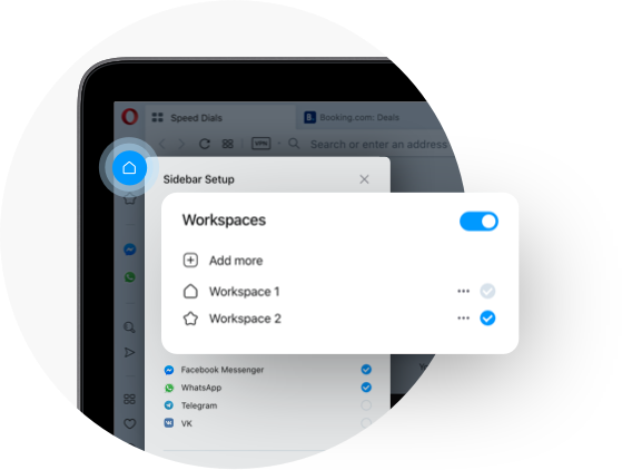 Workspaces Tidy Your Browser With Opera Opera