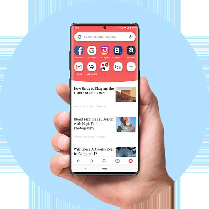 Opera Web Browser Faster Safer Smarter Opera