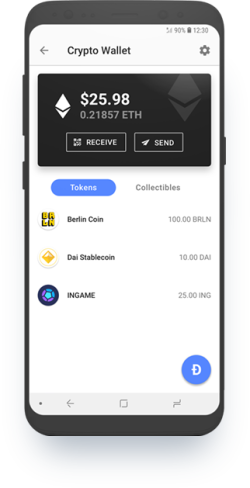 cryptocurrency wallet downloaded and installed