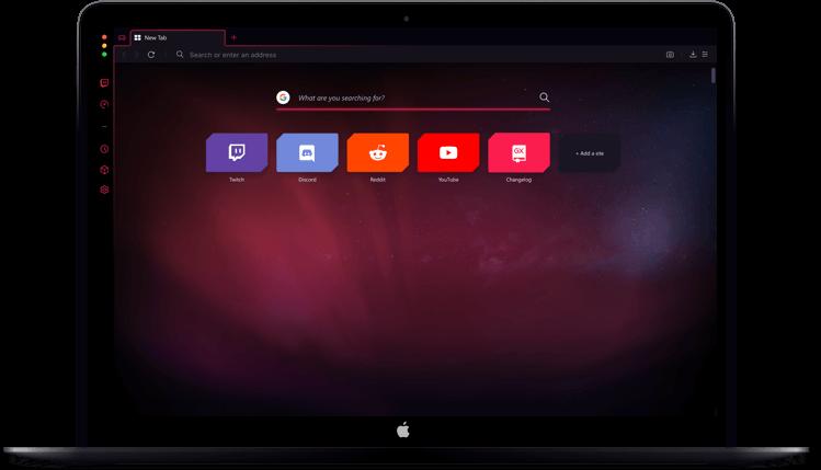 Opera GX - MacOS