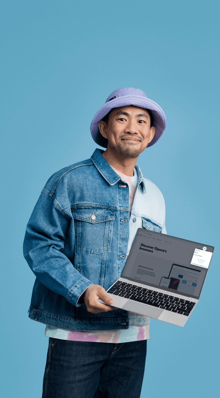 Battery saver in the Opera browser: Extend your laptop battery life