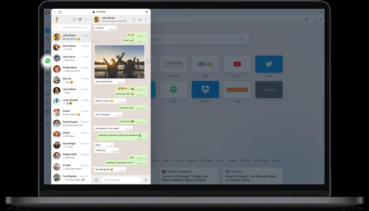 WhatsApp auf Ihrem Desktop
